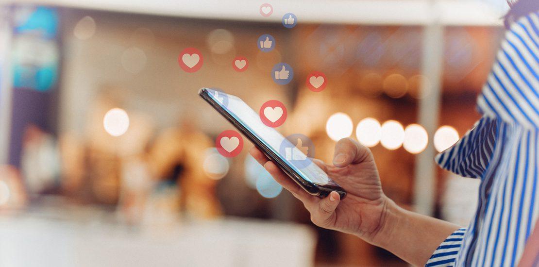 Social Media Marketing auf dem Smartphone